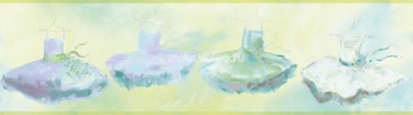 Бордюр Aura Honey Bunny YK0167B, интернет магазин Волео
