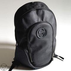 Рюкзак Gucci Black Flap Top