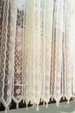 Тюль. Органза с вышивкой (кремовая)