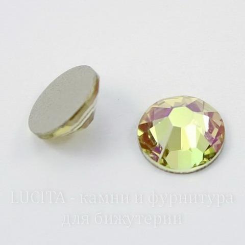 2058 Стразы Сваровски холодной фиксации Crystal Luminous Green ss30 (6,32-6,5 мм)