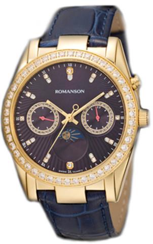 Купить Наручные часы Romanson RL4210QLGBU по доступной цене