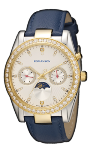 Купить Наручные часы Romanson RL4210QLCWH по доступной цене