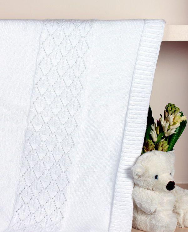 Плед детский 75х100 Luxberry Imperio 283 белый
