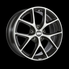 Диск колесный BBS SR 7.5x17 5x112 ET35 CB82.0 volcano grey/diamond cut