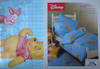 Детское постельное белье Сaleffi Pooh Pic-Nic аква