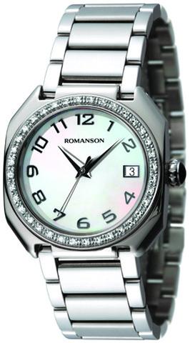 Купить Наручные часы Romanson RM1208QLCWH по доступной цене