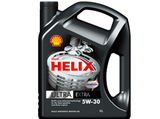 Shell Helix Ultra Extra 5W-30  синтетическое масло для  MB, VW, Porsche и BMW PSA 4L