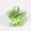 6744 Подвеска Сваровски Цветочек Peridot (14 мм)