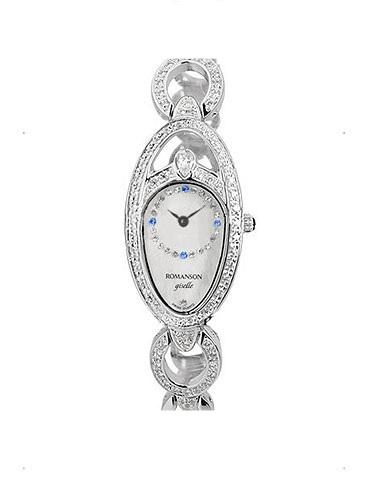 Купить Наручные часы Romanson RM9207QLWWH по доступной цене