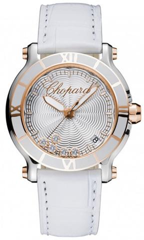 Купить Наручные золотые часы Chopard 278551-6002 Happy sport по доступной цене