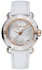 Наручные золотые часы Chopard 278551-6002 Happy sport