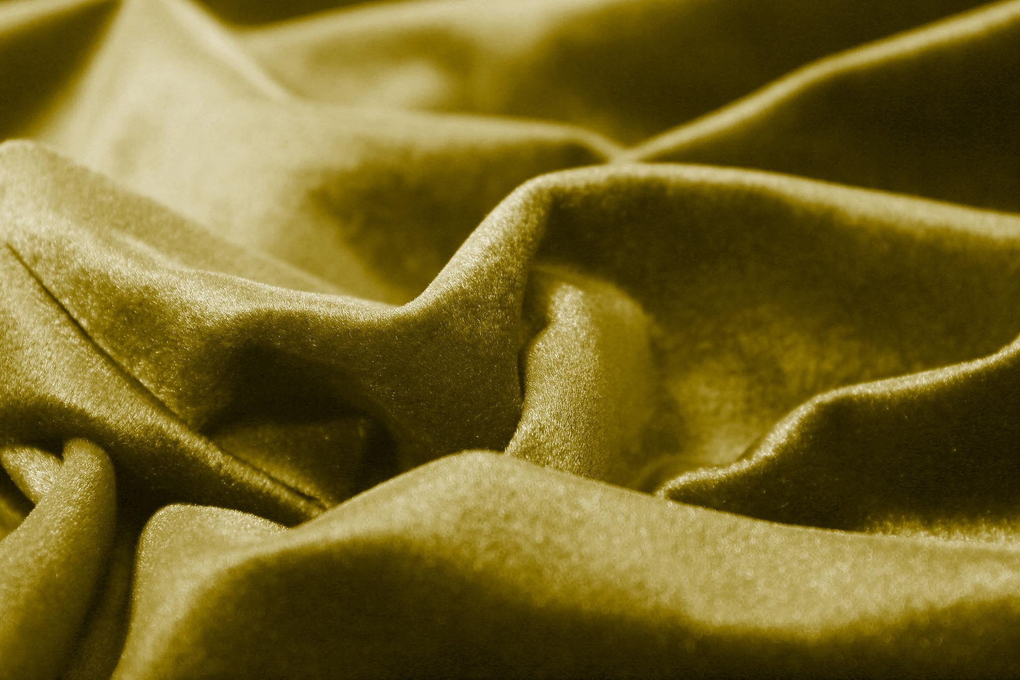 Velour (Gold). Шторы из велюра из серии Luxe.