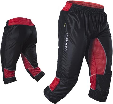 Капри Noname Terminator O-Pants, черный-красный