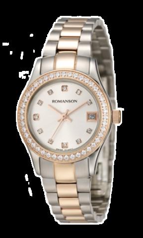 Купить Наручные часы Romanson RM4205QLCWH по доступной цене