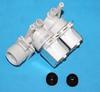 Клапан электромагнитный для стиральной машины Indesit (Индезит)/Ariston (Аристон)- 2W x 90 - 074586, 066518, Атлант 908092000950, 093843, 194402, контакты раздельно