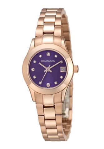 Купить Наручные часы Romanson RM4205QLGBU по доступной цене