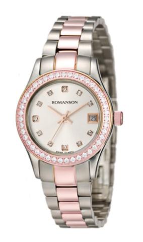 Купить Наручные часы Romanson RM4205QLJWH по доступной цене