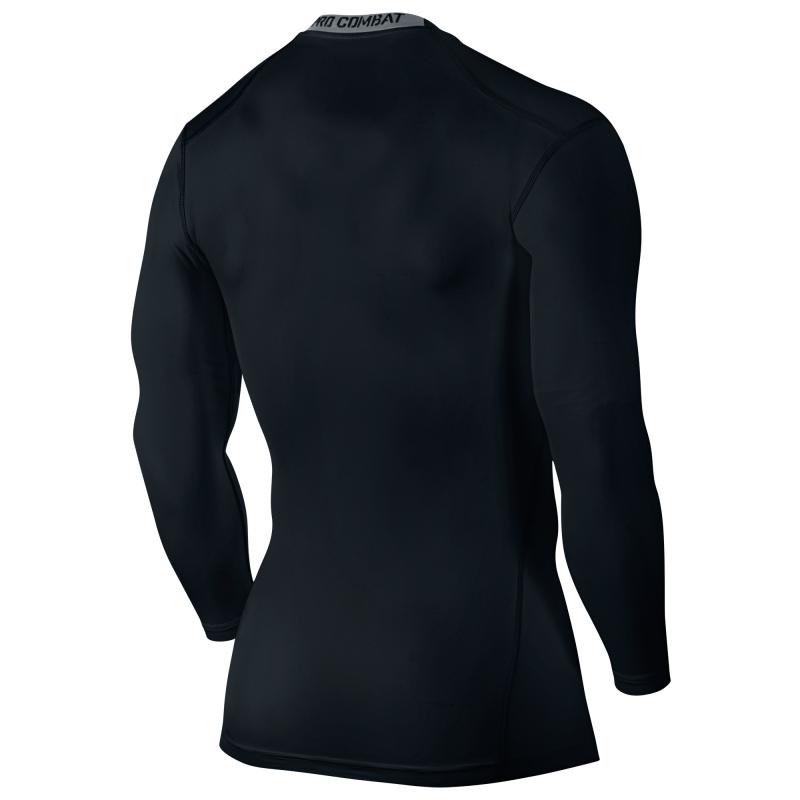 Футболка компрессионная Nike Hypercool Comp LS Top /Рубашка компрессионная беговая