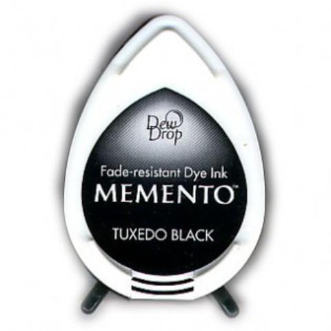 Штемпельная подушечка mini - MEMENTO - Texudo Black