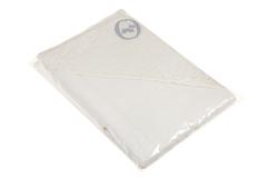 Полотенце детское 100х100 Bovi Carol с капюшоном белое
