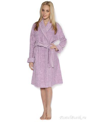 Элитный халат махровый Top Model лаванда от Blumarine