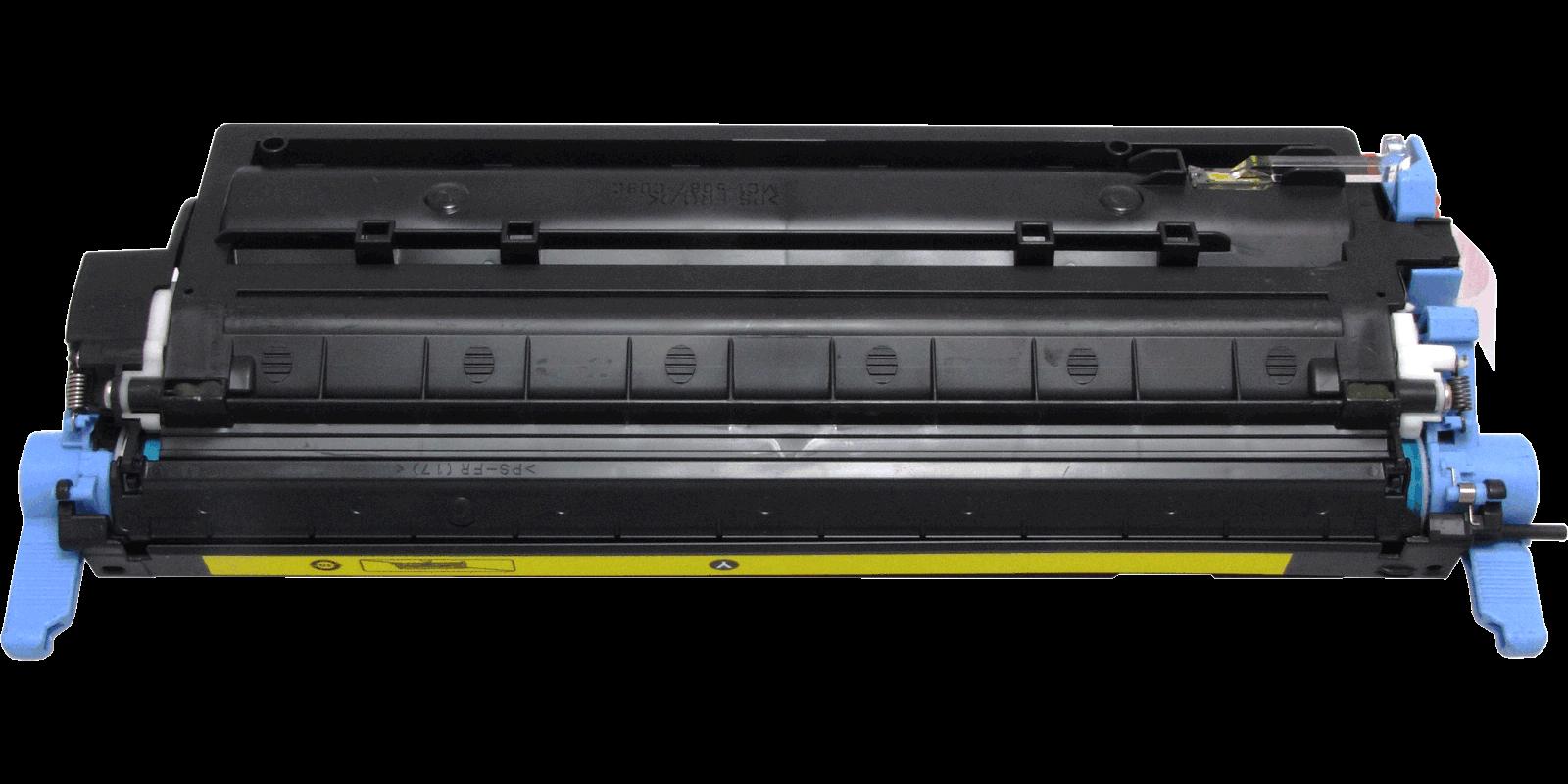 MAK №124A Q6002A CARTRIDGE-307/707/107, желтый (yellow)
