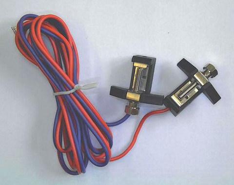 Клипса контактная с проводами