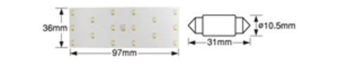 Дополнительные салонные лампочки POLARG J-73