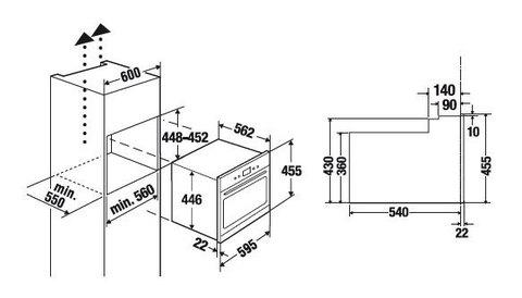 Компактный духовой шкаф Kuppersbusch EEBK 6260.0 JX1