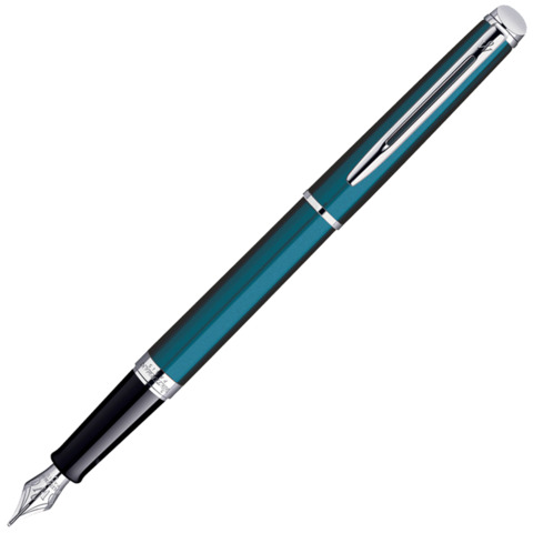 Waterman Hemisphere - Metallic Blue CT, перьевая ручка, F