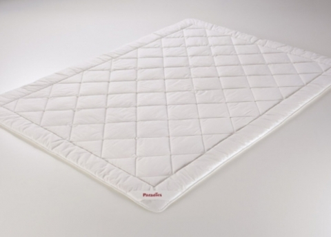 Элитное одеяло шёлковое 155х200 Sidesatin от Paradies