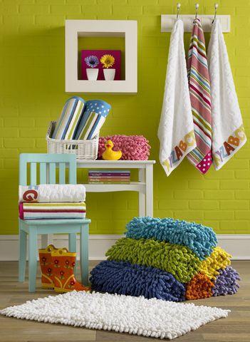 Элитный коврик для ванной Basics Green от Kassatex