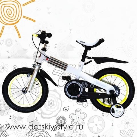 "Велосипед Royal Baby ""Buttons Steel 14"" (Роял Беби)"