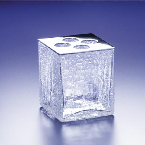 Стакан для зубных щеток 83128CR Cracked Crystal от Windisch