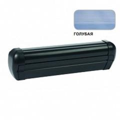 Маркиза крышная с эл.приводом DOMETIC Premium RTA2040,цв.корп.-черный,ткани-голубой, Ш=4м