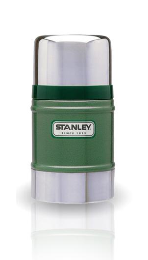 Термос для еды Stanley Classic Vacuum Food (0.5 литра) темно-зеленый