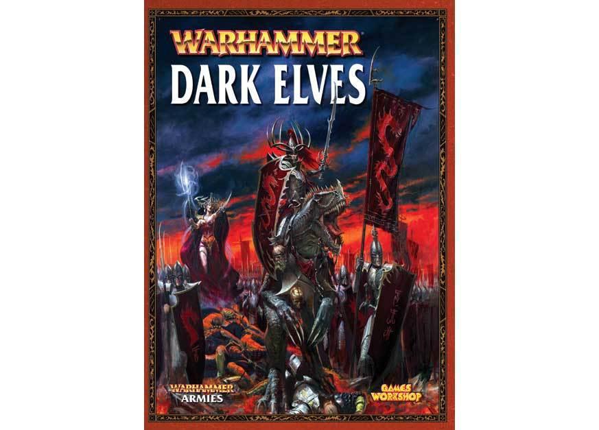 Dark Elves Army Book (старая версия)