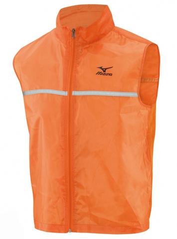Жилет беговой Mizuno Running Vest оранжевый