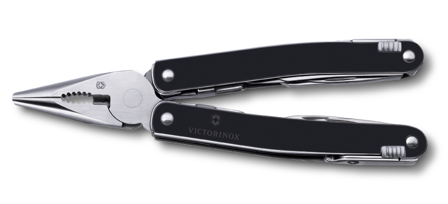 Мультитул Victorinox SwissTool Spirit 24 прорезиненный чехол (3.0224.L10)