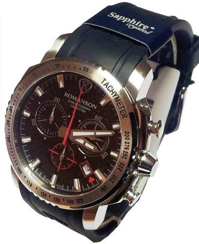 Купить Наручные часы Romanson AL3202HMWBK по доступной цене