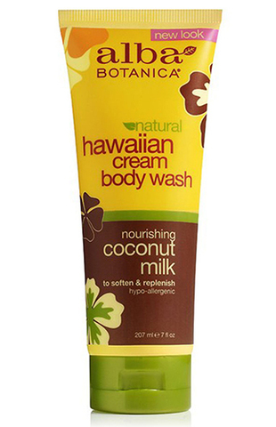 Гавайский гель для душа с молочком кокоса, Alba Botanica