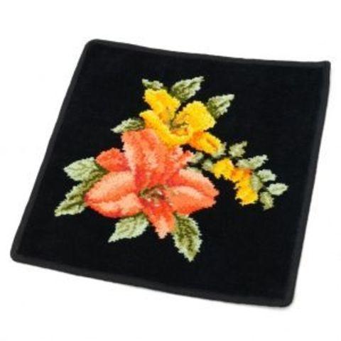 Элитная наволочка декоративная шенилловая Malaga 10 schwarz от Feiler