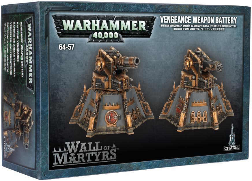 Wall of Martyrs - Vengeance Weapons Battery