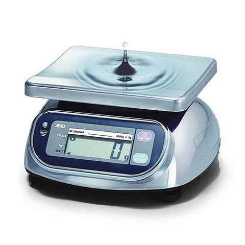 Весы настольные A&D SK-5000WP