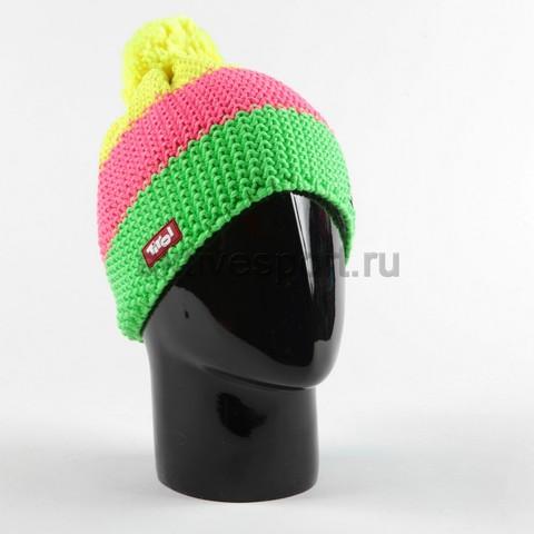 шапка Eisbar Star Neon Pompon Tirol 959