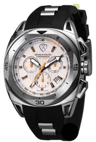 Купить Наручные часы Romanson AL1237HMWWH по доступной цене