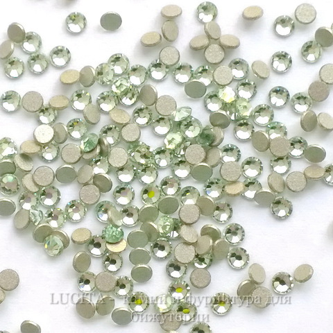 2058 Стразы Сваровски холодной фиксации Chrysolite ss 5 (1,8-1,9 мм), 20 штук ()