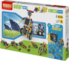 Конструктор ENGINO Solar Power S20 Solar Cars 8 in 1, серия Солнечная Энергия, автомобили