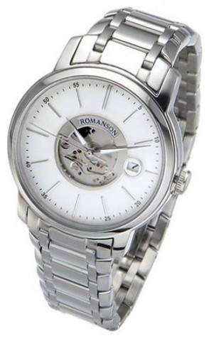 Купить Наручные часы скелетоны Romanson TM8222OMWWH по доступной цене