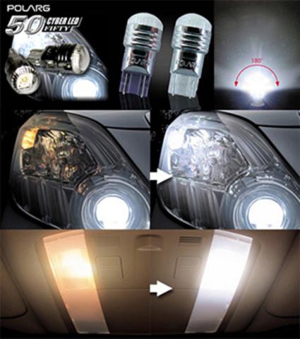 Дополнительные лампочки POLARG J-100